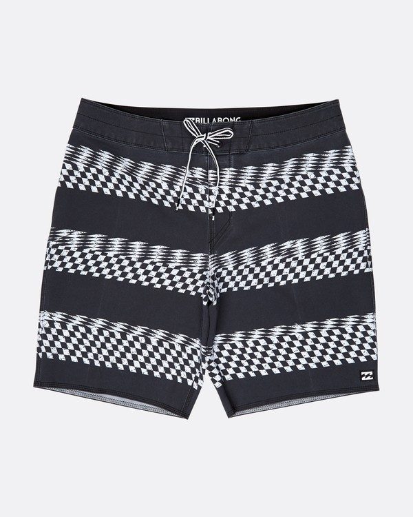 0 Sundays X Stripe 18'' Boardshorts Noir L1BS09BIF8 Billabong