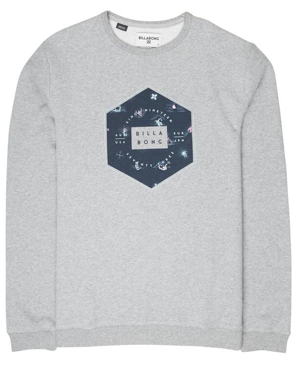 0 Access Crew Sweatshirt Gris L1CR02BIF8 Billabong