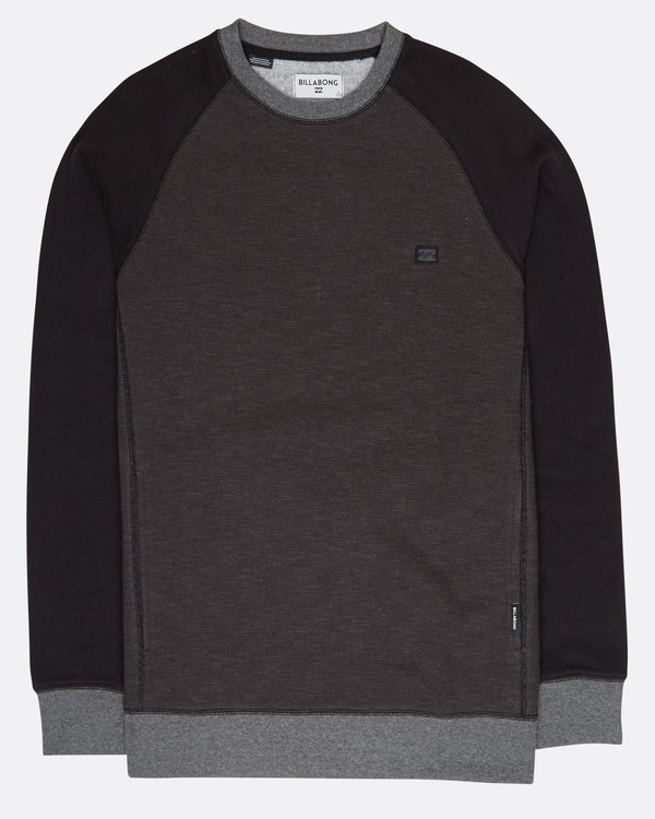 0 Balance Crew Sweatshirt Noir L1FL02BIF8 Billabong