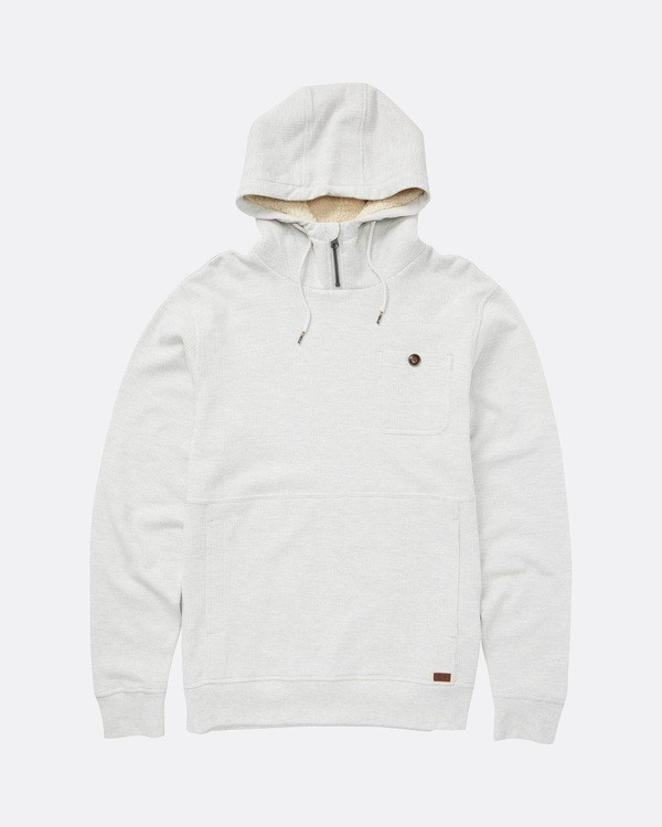 0 Hudson Sweatshirt Gris L1FL10BIF8 Billabong