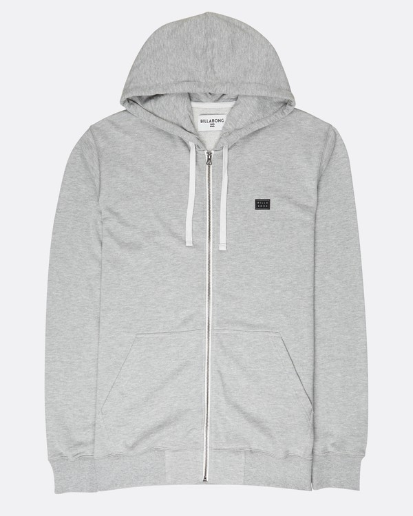 0 All Day Zip Hoodie Gris L1FL15BIF8 Billabong