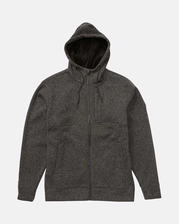 0 Boundary - Sherpa Zip Hoodie for Men Black L1FL23BIF8 Billabong