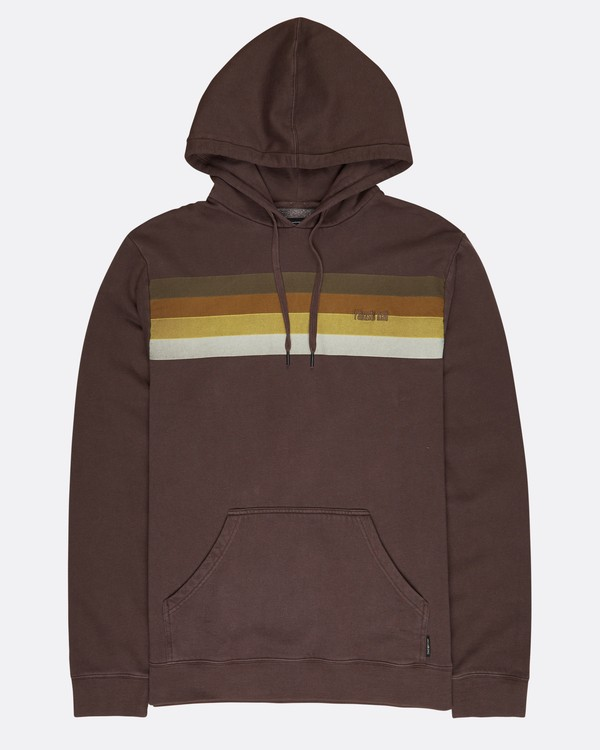 0 Flex Hull Wave Washed Hoodie Marron L1HO07BIF8 Billabong