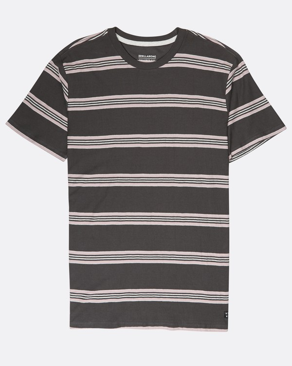 0 Die Cut Yarn Dye Stripe T-Shirt Negro L1JE03BIF8 Billabong
