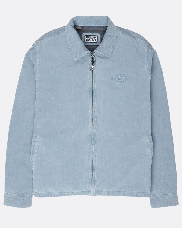 0 The 73 Corduroy Jacket Blue L1JK05BIF8 Billabong