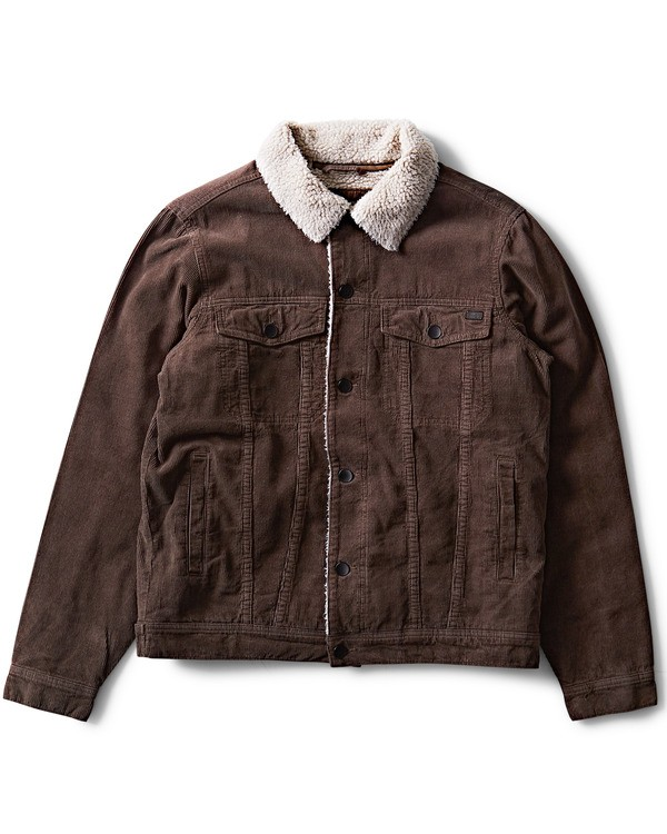 0 Barlow Warm Trucker Jacket Marron L1JK07BIF8 Billabong