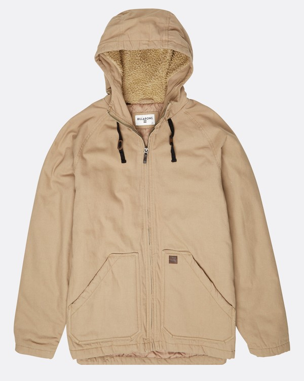 0 All Day Canvas Warm Jacket Grau L1JK11BIF8 Billabong