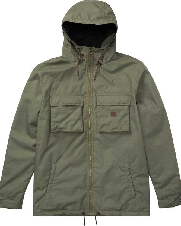 0 Matt 10K Waterproof Warm Jacket  L1JK13BIF8 Billabong
