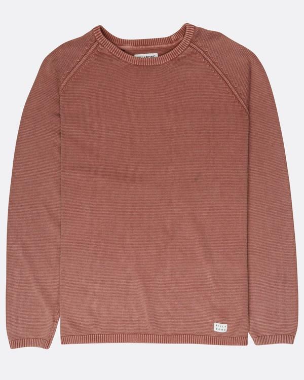 0 Wave Washed Raglan Sweater Vert L1JP02BIF8 Billabong