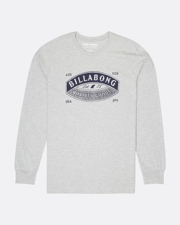 0 Guardiant Long Sleeve T-Shirt Gris L1LS04BIF8 Billabong