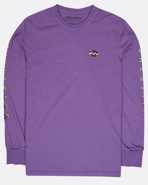 0 Heritage Long Sleeve T-Shirt Violet L1LS08BIF8 Billabong