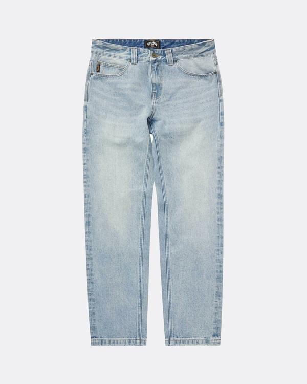 0 Fifty Cropped Straight Fit Jeans Bleu L1PN03BIF8 Billabong