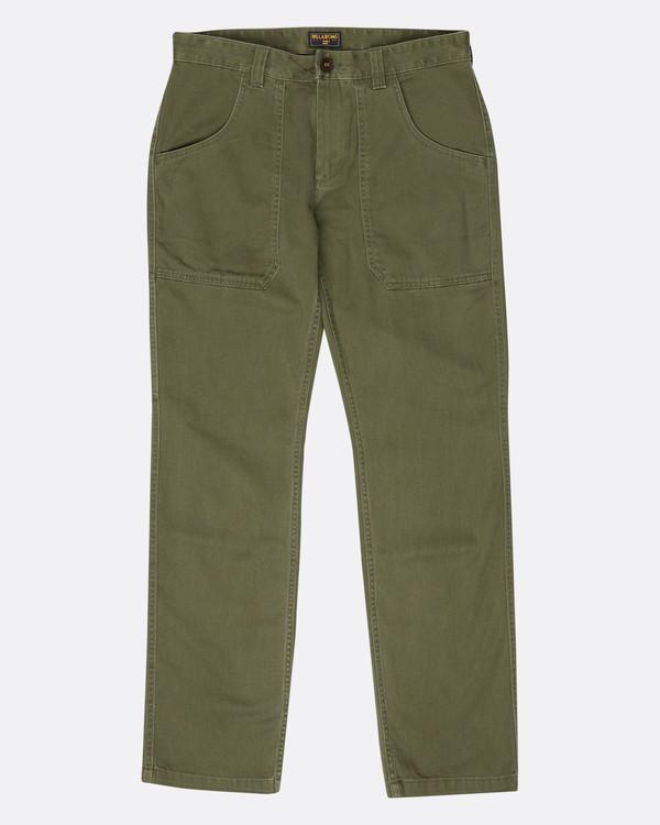 0 Collins Work Wear Twill Pants  L1PT04BIF8 Billabong