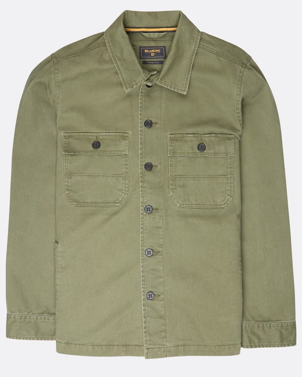 0 Collins Jacket Shirt  L1SH12BIF8 Billabong