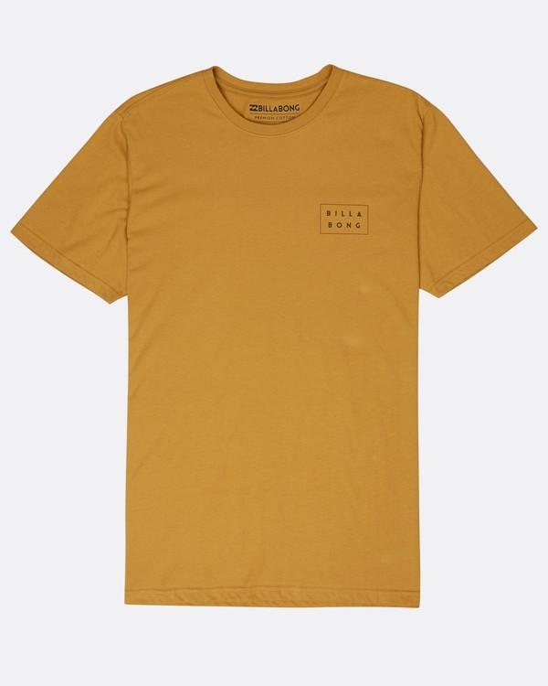 0 Die Cut T-Shirt Gelb L1SS02BIF8 Billabong