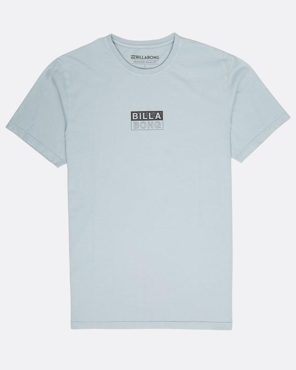 0 Virtue T-Shirt Blue L1SS04BIF8 Billabong