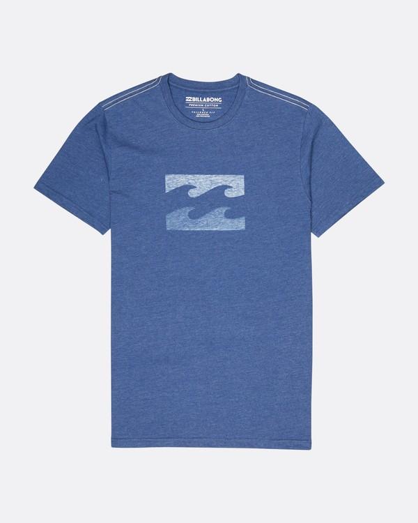 0 Wave T-Shirt Azul L1SS06BIF8 Billabong