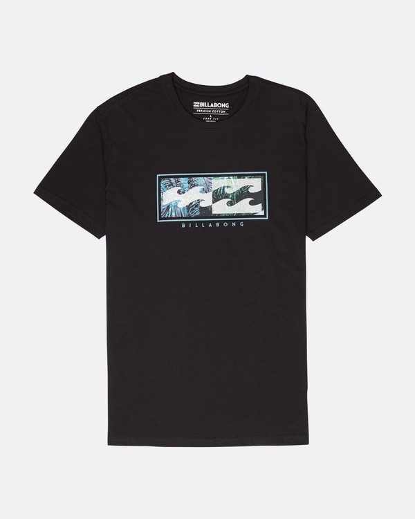 0 Inversed T-Shirt Schwarz L1SS08BIF8 Billabong