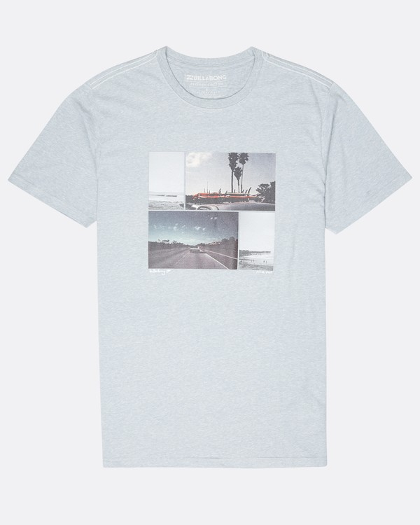 0 The Road T-Shirt Blue L1SS13BIF8 Billabong