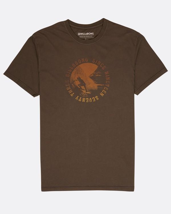 0 Seven T-Shirt Schwarz L1SS14BIF8 Billabong