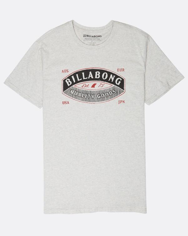 0 Guardiant T-Shirt Grau L1SS16BIF8 Billabong