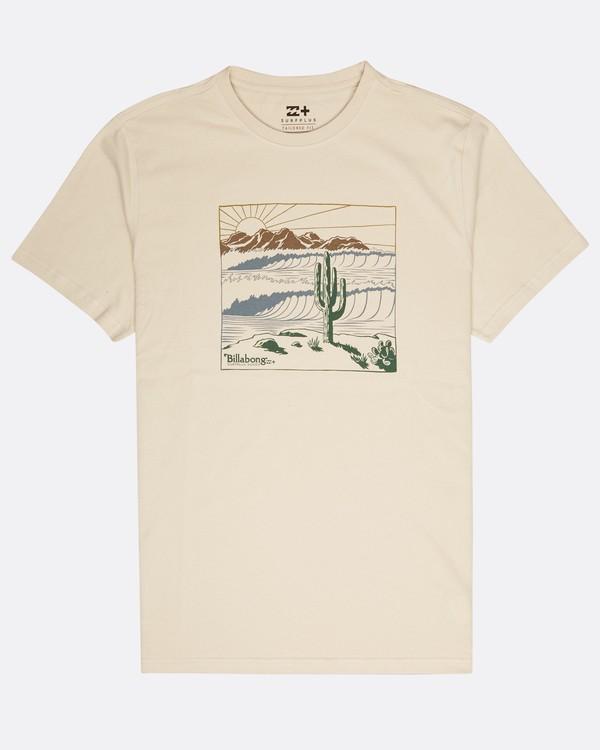 0 Deserted T-Shirt Beige L1SS30BIF8 Billabong