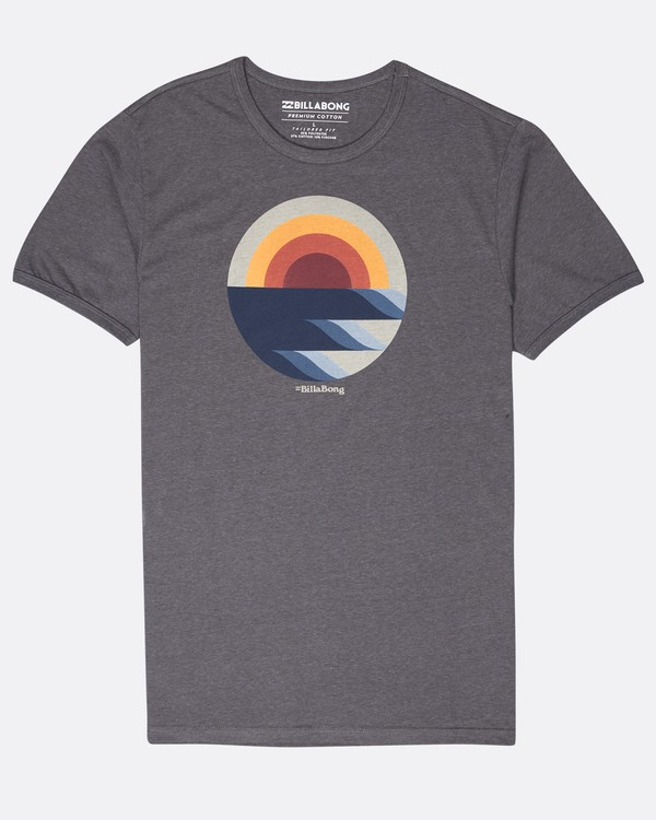 0 Rising T-Shirt Noir L1SS32BIF8 Billabong