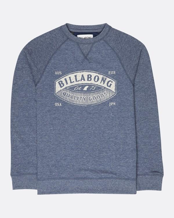 0 Boys Guardiant Sweatshirt Bleu L2CR01BIF8 Billabong