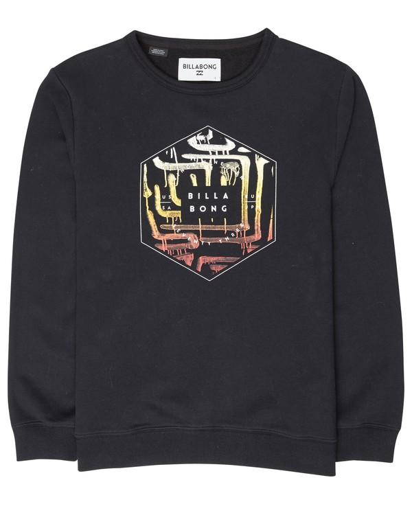 0 Boys Access Sweatshirt Noir L2CR02BIF8 Billabong