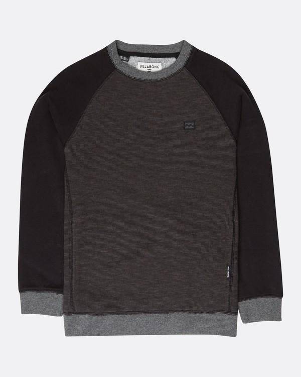 0 Boys All Day Crew Sweatshirt Noir L2FL02BIF8 Billabong