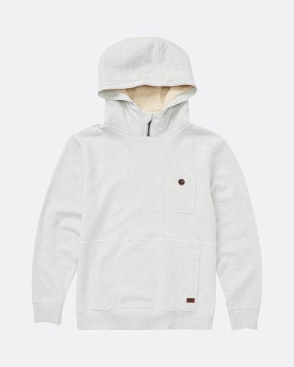0 Boys Hudson Sweatshirt Gris L2FL07BIF8 Billabong