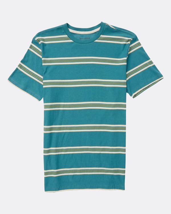 0 Boys Die Cut Stripe Jersey T-Shirt  L2JE01BIF8 Billabong
