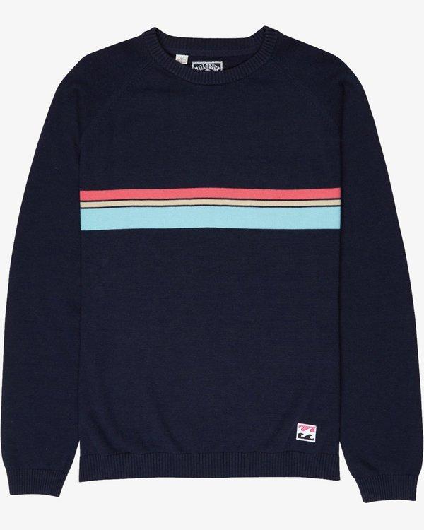 0 Boys Re Issue Sweatshirt Bleu L2JP03BIF8 Billabong