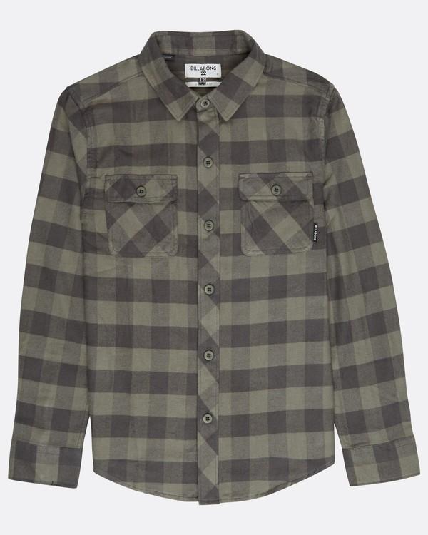 0 Boys All Day Flannel Shirt Gemustert L2SH01BIF8 Billabong