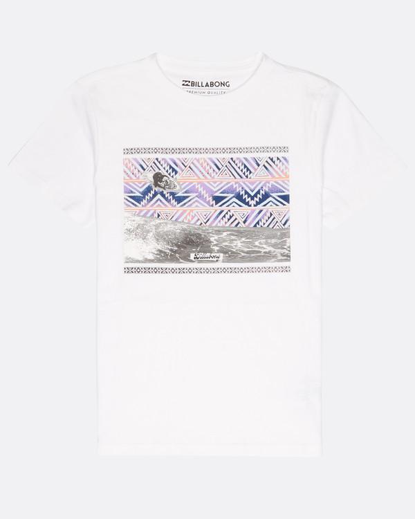 0 Boys Carey T-Shirt Blanco L2SS02BIF8 Billabong