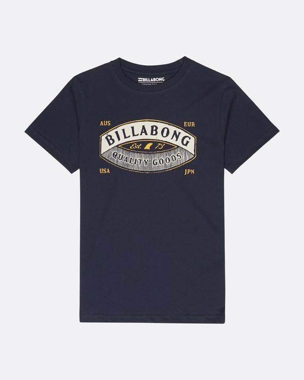 0 Boys Guardiant T-Shirt Azul L2SS10BIF8 Billabong