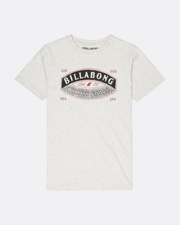 0 Boys Guardiant T-Shirt Gris L2SS10BIF8 Billabong