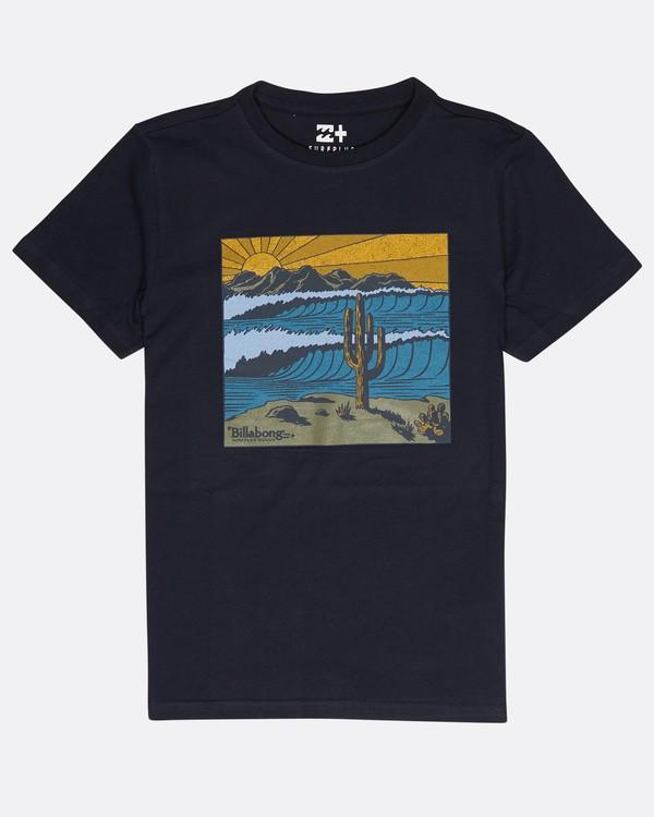 0 Boys Desert T-Shirt Bleu L2SS12BIF8 Billabong