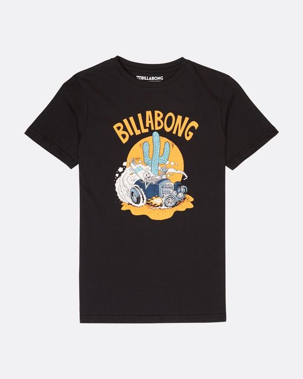 0 Boys Cactus Island T-Shirt Negro L2SS13BIF8 Billabong