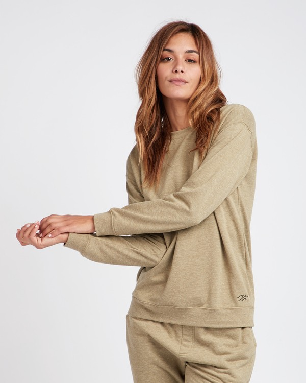 0 Essential Loose Fit Crewneck Sweatshirt  L3CR01BIF8 Billabong