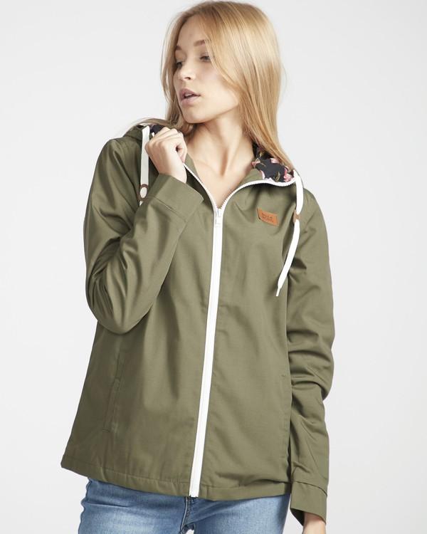 0 Essential Regular Fit Sporty Jacket Vert L3JK04BIF8 Billabong