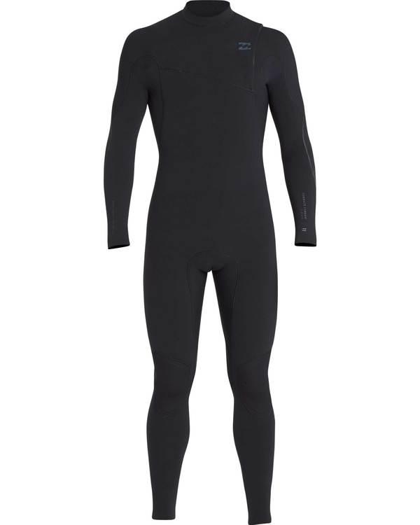 0 3/2 Furnace Carbon Comp Zipperless Wetsuit Schwarz L43M03BIF8 Billabong
