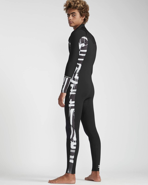 0 3/2 Furnace Revolution Chest Zip Long Sleeves Wetsuit Black L43M06BIF8 Billabong