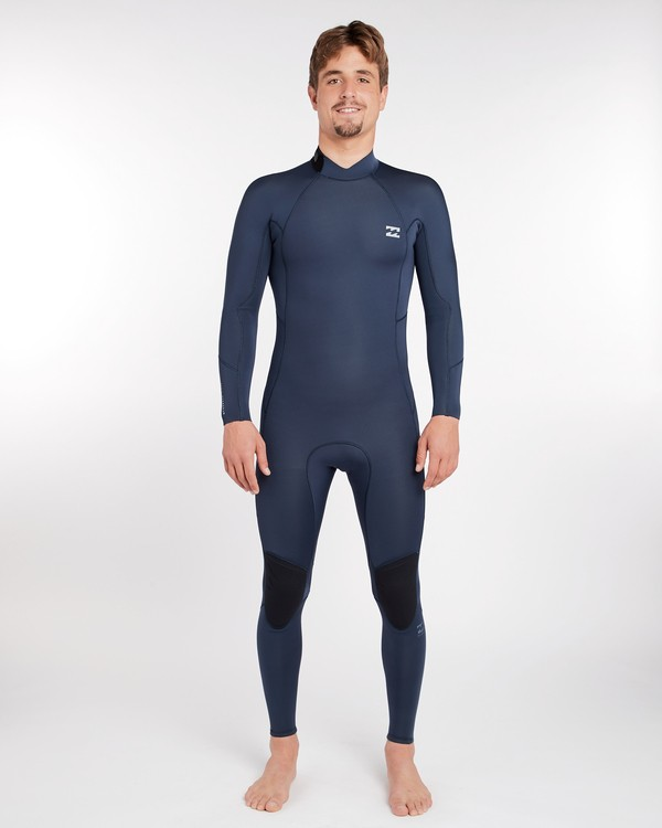 0 3/2 Furnace Absolute Back Zip Gbs Wetsuit Grey L43M10BIF8 Billabong