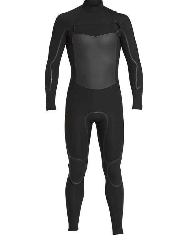 0 3/2 Furnace Absolute X Chest Zip Wetsuit Schwarz L43M27BIF8 Billabong