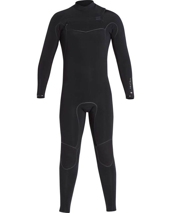0 4/3 Furnace Carbon Ultra Chest Zip Wetsuit Schwarz L44M01BIF8 Billabong