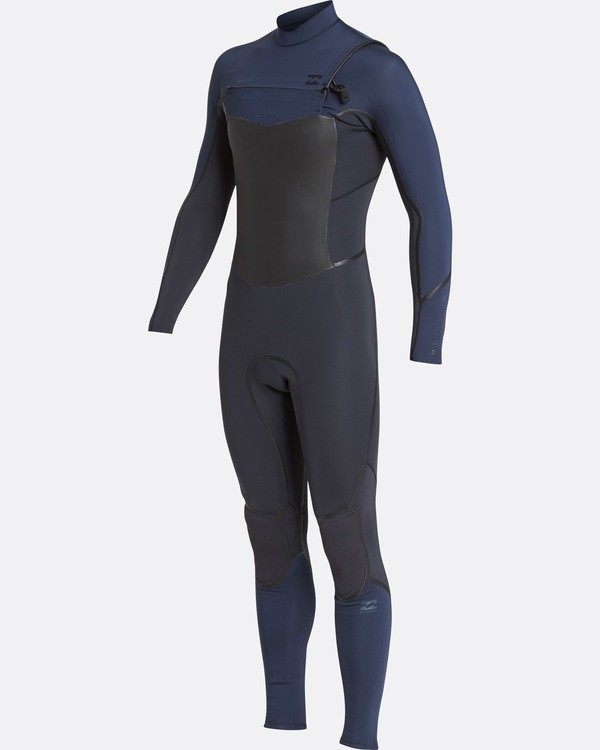 0 4/3 Furnace Absolute X Chest Zip Fullsuit Wetsuit Grau L44M07BIF8 Billabong