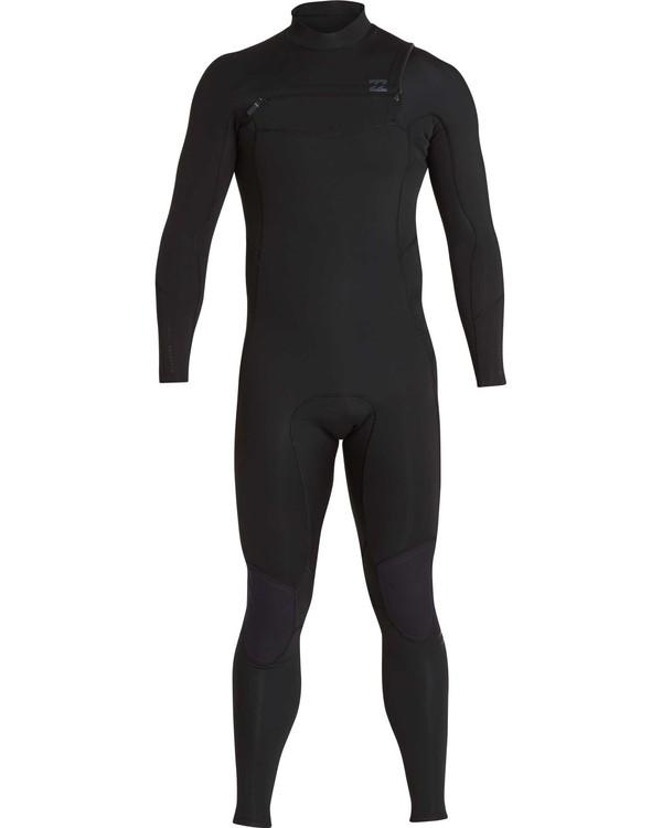0 4/3 Furnace Absolute Chest Zip Gbs Fullsuit Wetsuit Noir L44M09BIF8 Billabong