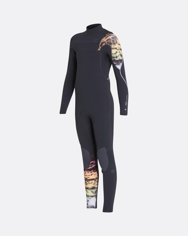 0 5/4 Boys Furnace Carbon Chest Zip Gbs Fullsuit Wetsuit Gris L45B03BIF8 Billabong
