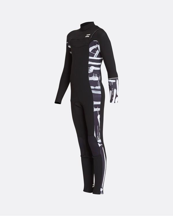 0 5/4 Boys Furnace Revolution Chest Zip Long Sleeves Wetsuit Noir L45B04BIF8 Billabong